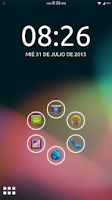 Screenshot of Theme ICS/JB - Smart Launcher