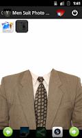 Screenshot of Man Suit Photo Montage