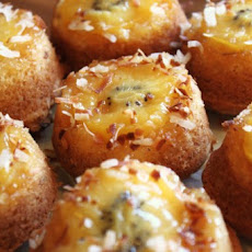Mini Kiwi Upside-Down Cakes
