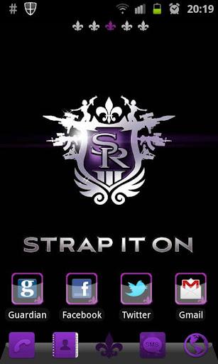 Saints Row 3 Go Launcher Theme