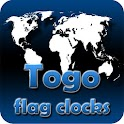 Togo flag clocks icon