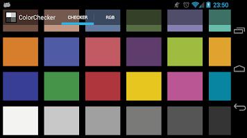 Screenshot of ColorChecker