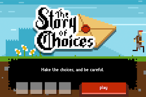 Screenshot of The Story of Choices