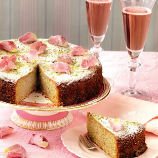 Pistachio and Rose-Water Cake