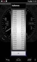Screenshot of Pressure Altimeter