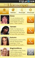 Screenshot of Horoscopes Live