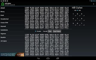Screenshot of Decipher - Code and Cipher Kit