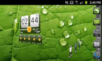 Screenshot of Metallic Theme GO Launcher EX