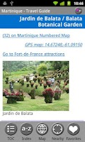 Screenshot of Martinique - FREE Guide & Map