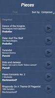 Screenshot of Classical Music Quiz