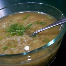 The Easiest Egg Drop Soup