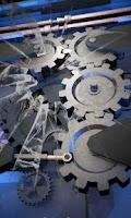 Screenshot of Mechanical gear 3D free lwp
