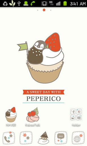 Pepe-berry cupcake Go launcher