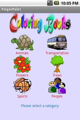 Color Books - Finger Painter