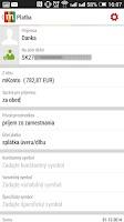 Screenshot of mBank SK 2.1