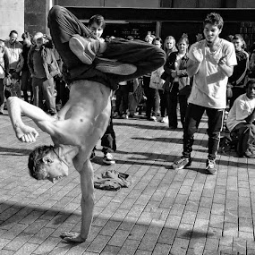 dancers by Kathleen Devai - People Street & Candids ( men dancing music,  )