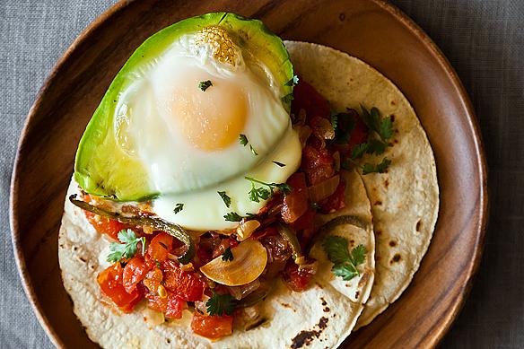 Avocado y Huevos Caliente