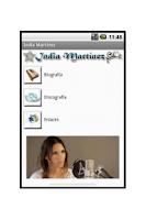 Screenshot of India Martínez