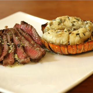 Father's Day Recipe – Grilled Steak & Lobster Tails