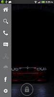 Screenshot of BMW Lock Screen