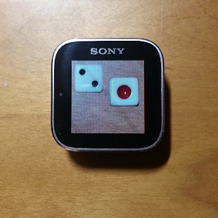 Dice for Sony SmartWatch - screenshot
