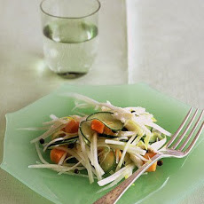 Papaya, Endive, and Crabmeat Salad