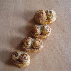 Palmiers (French Puff Pastry Cookies)