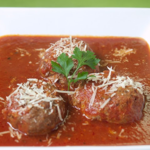 Meatballs In Smoked Paprika Tomato Sauce