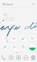 Screenshot of Carpe diem dodol theme