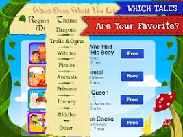 Screenshot of Fairy Tales Children Stories