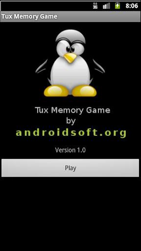 Tux Memory Game