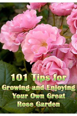 101 Tips for Great Rose Garden