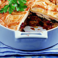 Diced Game Birds Pie With Whisky