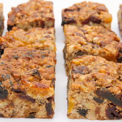 Fruitcake Bars