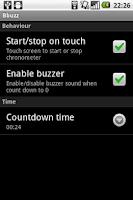 Screenshot of Bbuzz, basketball buzzer
