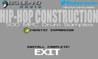 Screenshot of Caustic Hip-Hop Construction