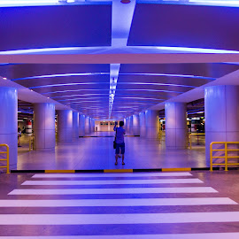 Esplanade Car Park at night by Lye Danny - Buildings & Architecture Other Interior
