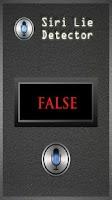 Screenshot of Siri Lie Detector
