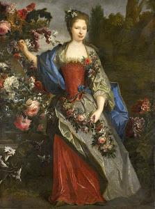 RIJKS: school of Nicolas de Largillière: painting 1740