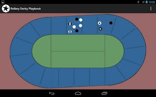 Screenshot of Roller Derby Playbook