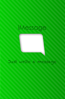 Screenshot of iMessage