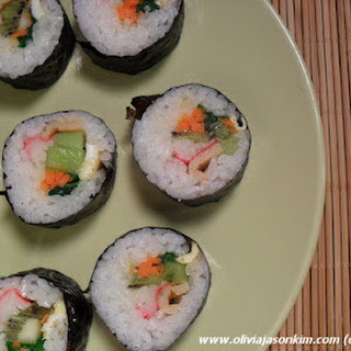 Korean Kimbab (California Rolls)