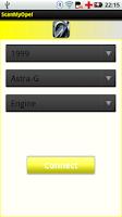 Screenshot of ScanMyOpel