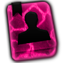 GO CONTACTS - Hot Pink Giraffe icon