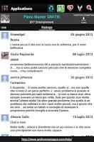 Screenshot of Italian applications