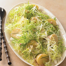 Warm Potato and Frisee Salad