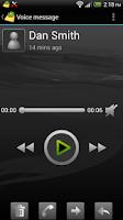 Screenshot of Cellcom Visual Voicemail