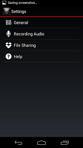 Voice Recorder HD - screenshot