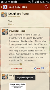 Doughboy Pizza - screenshot