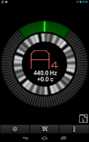 Screenshot of PitchLab Guitar Tuner (PRO)